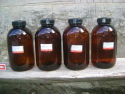 Régi gyógyszertári, patika üveg - 29 cm - négy darab