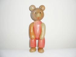 Retro játék műanyag maci medve mackó - 1960-1970-es évekből