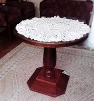 Antik  ART DECO kör alakú asztal