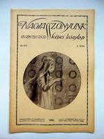 1916  /  NAGYASSZONYUNK  /  RÉGI EREDETI ÚJSÁG Ssz.: 477
