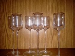 Ajkai pálinkás kristály pohár eladó