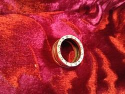 Bulgari férfi ezüst gyűrű