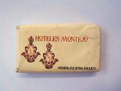 Montejo hotel mini reklám szappan