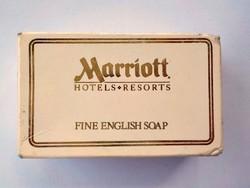 Mariott hotel mini reklám szappan