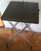 Diaporáma állvány elektromosan vezérelhető csatlakozóval, 60-as évekből, USA gyártmány,77cm magas