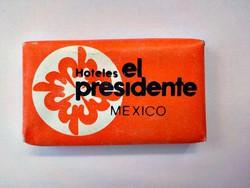 Hotel el presidente Mexiko mini reklám szappan