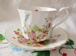 Angol Royal Kendal szamóca mintás kávés szett
