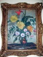 Kesztyűs Ferenc olaj festménye