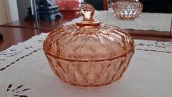 Borostyán színű bonbonier/mogyoró kínáló