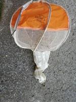 Extra ritkaság, Mig 21 katapult ülésének fékezőernyője, retró lámpává alakítható