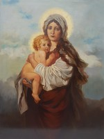 Ott Zoltán / Madonna a kisdeddel