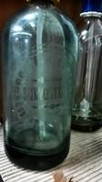 Szodásüvegek 7db egy írásos