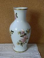 Hollóházi ritka festésű nagy váza.