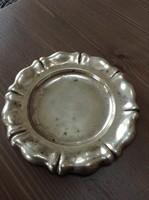Antik diannás ezüst tányér