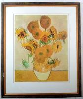 Van Gogh nagyméretű, profi festmény nyomat, sorszámozott