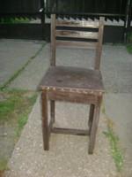 Régi támlás szék
