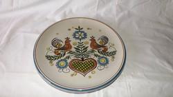 Madaras falitányér Ulmer keramik