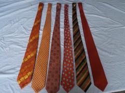 Nyakkendő, nem - vagy alig használt, Angol - Olasz - Német DARABONKÉNT KÉRHETŐ!
