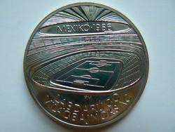 EZÜST 500 FORINT LABDARÚGÓ VILÁGBAJNOKSÁG MEXIKO1986 (0,900)