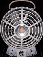 Albin Sprenger loft design industrial ventilátor - hősugárzó 1960