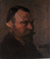 Pólya Tibor (1886-1937): Férfiportré