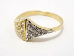 Köves arany gyűrű (ZAL-Au70846)