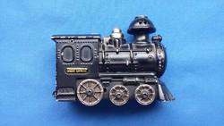 Orient express - fém gőzmozdony modell, gázos öngyújtó (MÁV Rt.)