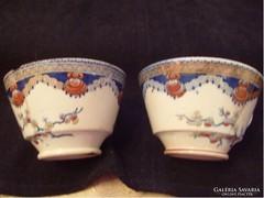 Sarreguemines  180 éves kávés/ teás 2 db -os ritkaság gyűjteménybe