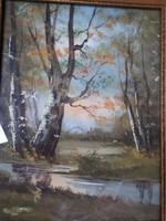 Neogrády László Akvarell
