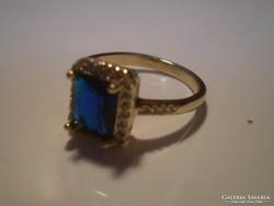 Gold filled királykék gyűrű