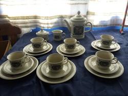6 személyes antik,teás,kávés kiöntő!