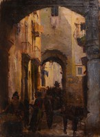 SZÁNTÓ LAJOS (1890 - 1965): Nápoly