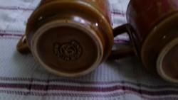 Made in Romaina kerámiabögrék 4 db