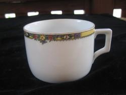 Zsolnay antik , ritkán elő forduló ,   teás csésze , öttornyú  arany színű  jelzéssel  85x55 mm