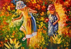 Leonid Afremov: Sisters