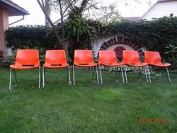 SVANTE SCHÖBLOM OVERMAN székek RETRO, LOFT DESIGN SVÉD VINTAGE