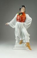 0Q395 Táncoló juhász Herendi figura 29 cm
