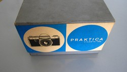Régi Praktica Nova fényképezőgép eredeti doboza, doboz