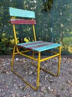 Mid-Century  kerti szék , strand szék
