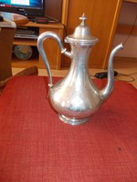 Minervás mester jeles francia 1810-körűli 950-es ezüst kiöntő.