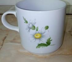 Margarétás, 3,5 dl-es kakaós csésze- Alföldi porcelán