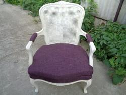 Chippendale fotel ülőpárnával