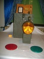 Retro katonai jelző lámpa készlet 1962