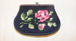 Gobelin virágos pénztárca