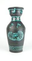 0R484 Jelzett retro kerámia váza 25 cm