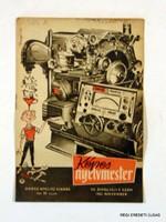 1963 november  /  KÉPES NYELVMESTER  /  SZÜLETÉSNAPRA RÉGI EREDETI ÚJSÁG Szs.:  3717