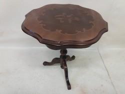 Barokk intarziás lerakó-asztal