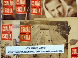 1966 június   Havilap  /  CSALÁD és ISKOLA  /  SZÜLETÉSNAPRA RÉGI EREDETI ÚJSÁG Szs.:  6344