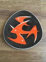 Halas Zsolnay tányér