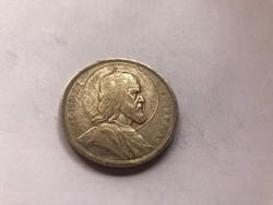 Szt István ezüst 5 pengő,patinás 25 gramm 0,640 II.